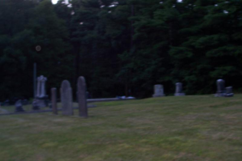 Orbs in Blood Cemetary, Hollis, NH